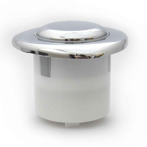 Siamp Single Flush Chrome Plated Button Pneumatic Value FTB087 5055639139428