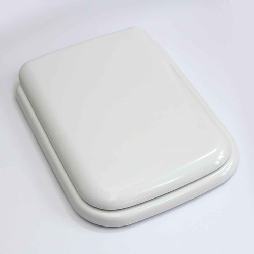 Ideal Standard White Michelangelo Toilet Seat And Cover With Chrome Hinges FTB1151 5055639138254