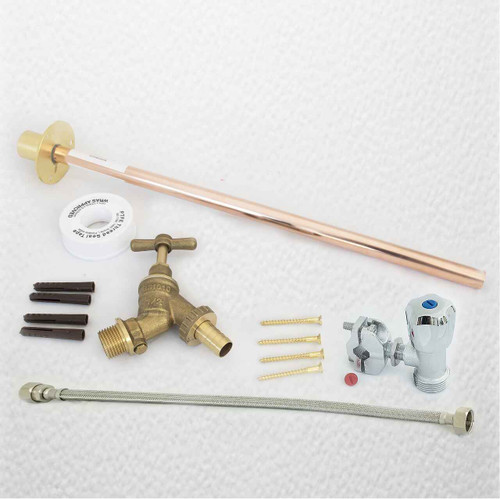 Outdoor Garden Diy Tap Kit Self Cut Diy Fit Brass FTB1396 5055639198463