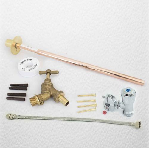 Outdoor Garden Diy Tap Kit Self Cut Diy Fit Brass FTB1396 5055639198463