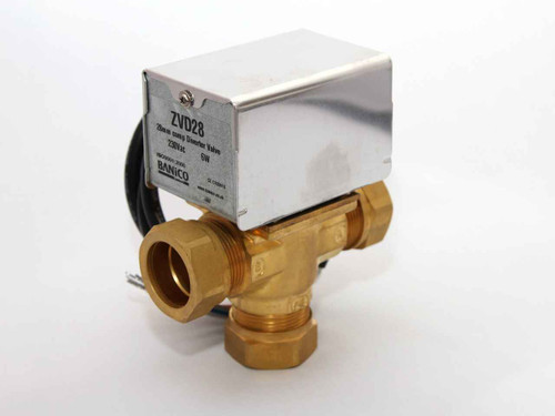 Motorised Diverter Priority Valve Actuator 3 Port 28Mm Can Replace V4043C FTB1969 5055639138704