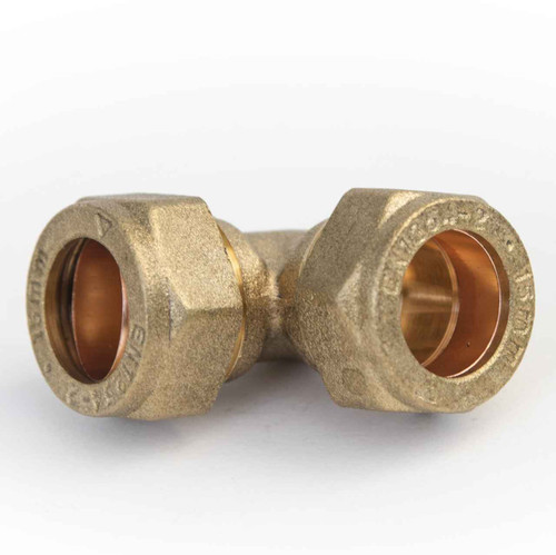 Ftd 15Mm Brass Compression Elbow Fitting FTB756 5055639142688