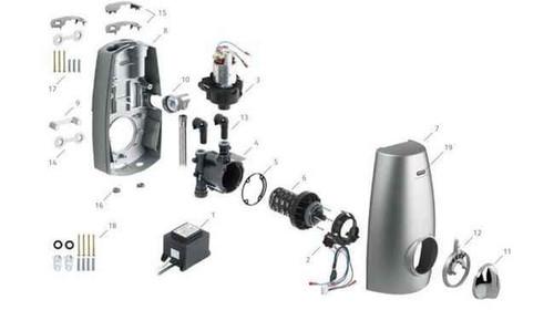 Aqualisa Aquastream Thermo Dual Speed Loom Assembly 241302 Post 2003 FTB257 5055639142695