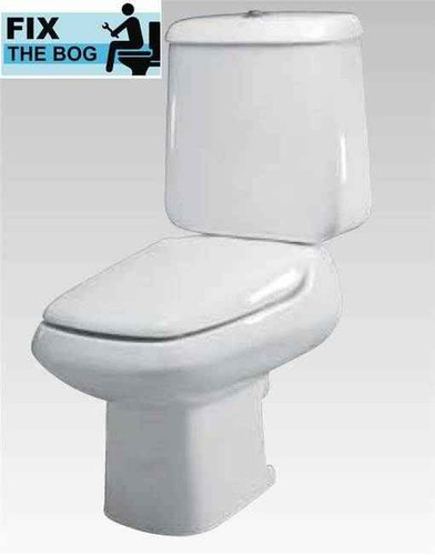 Ideal Standard Emirama Seat And Cover Normal Close Hinge White FTB1078 5055639133389