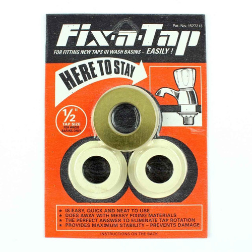 Essex Orange Fix A Tap Fittings Kit 1/2 Inch Taps Ceramic Basin Fixing Washers FTB586 5055639198807
