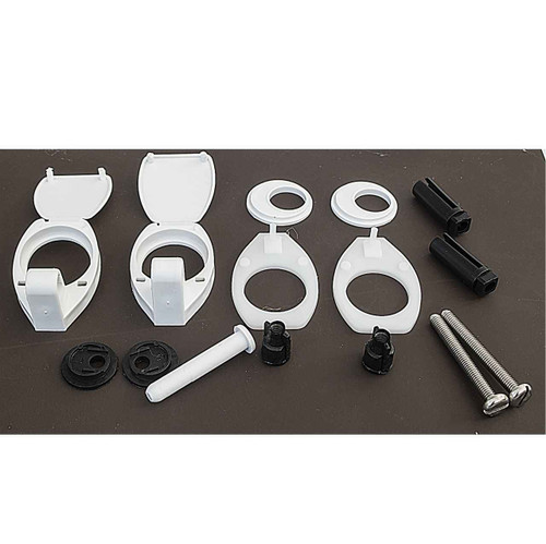 Armitage Shanks S972701 Orion Replacement Wc Toilet Seat Hinge Set FTB1160 5055639126749