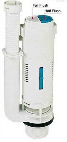 Lab Sanitary B218M Dual Flush Valve Plus C214 Button Chrome FTB1061 5055639125261