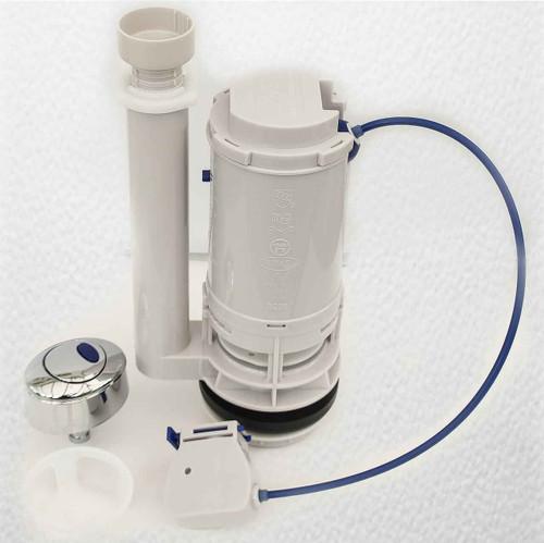Lab B228 Flush Valve Arcadia Dual Flush With C216 Chrome 2 Inch Bandq Toilets Wc FTB1063 5055639125285