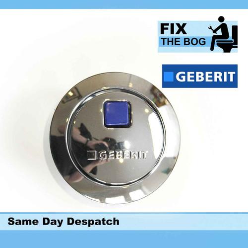 Geberit 241.800Kd.1 Impuls 280 Dual Flush Actuator Push Button Chrome FTB256 5055639123380
