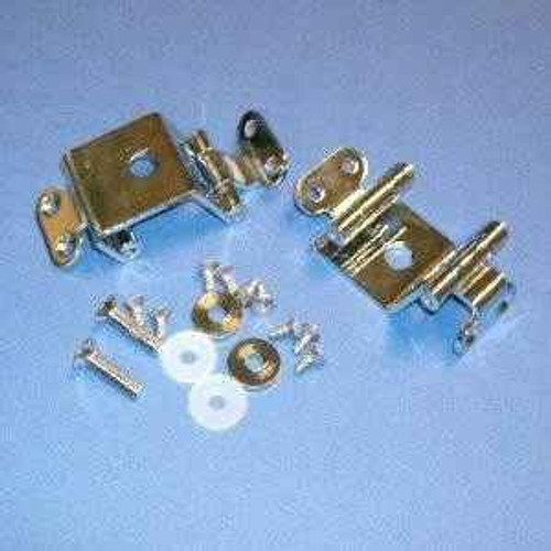 E0090Aa Ideal Standard Accent Seat Hinges Chrome FTB988 5055639123212