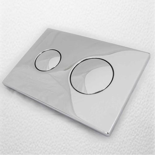 Ideal Standard S4399Aa Flushplate Dual Air Pneumatic Conceala 2 Flush Plate FTB250 5055639131422