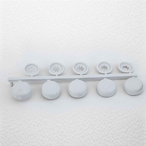 Ideal Standard White Pack Of 5 Unicaps Complete With Washers FTB378 5055639124295
