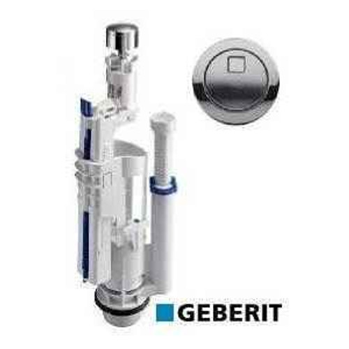 Geberit Impils 280 Dual Flush Valve Including Chrome Button FTB1000 5055639123298