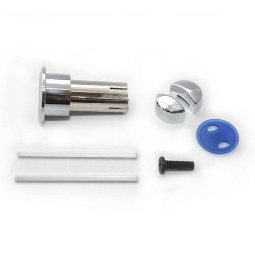Roca Dual Flush Button Long D1D Old Style Long Body 822041001 Chrome Button Only FTB208 5055639123670