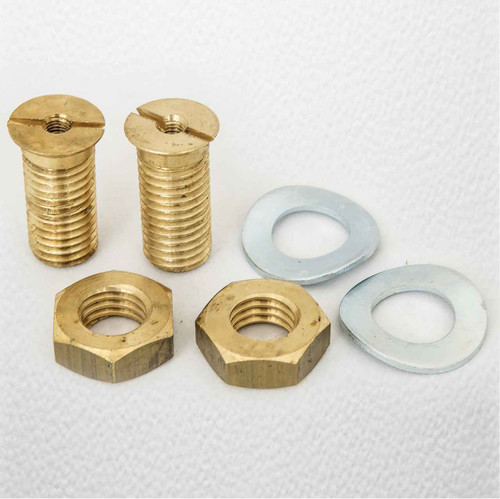 Ideal Standard E985067 Michelangelo Seat-Bush Washer And Nut Set FTB384 5055639124660