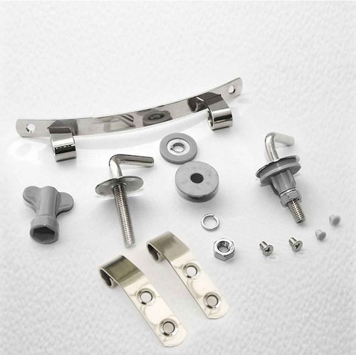 Ideal Standard Toilet Seat Hinges Ev154Aa For Space Seats Manufactured After 2003 FTB979 5055639105065