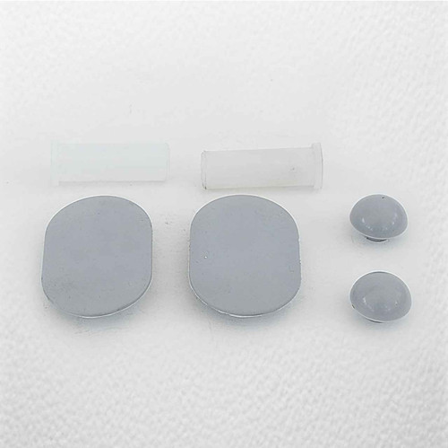 Armitage Shanks Halo Seat And Cover Buffers Plus 2 Sleeves S402901 FTB195 5055639120143