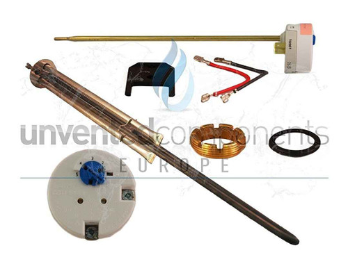 Megaflo 95606963 Upper Entry Immersion Heater Complete With Thermostat FTB851 5055639100022