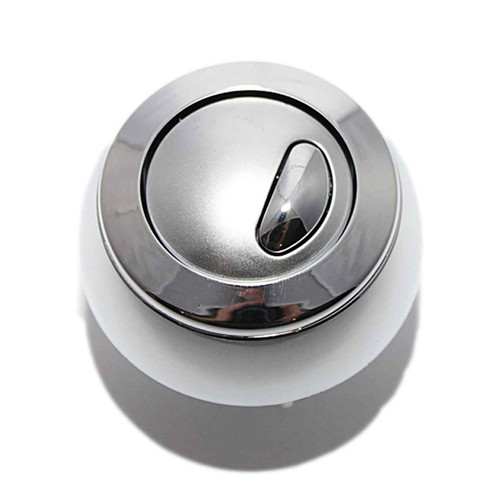Siamp Chrome Plated Dual Flush Button Optima 50 FTB092 5055639106215