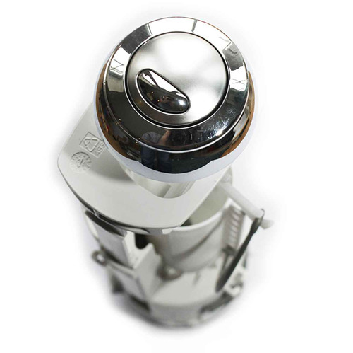 Siamp Optima 49 Dual Flush Valve With Chrome Button 2 Inch Outlet FTB083 5055639127951