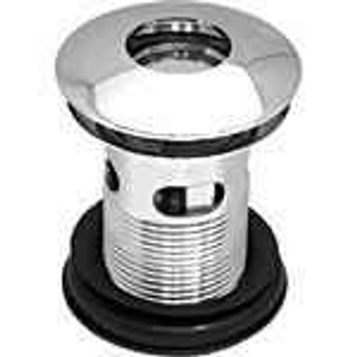 Poke Down Basin Waste Chrome On Solid Brass Quality 1 1/4 Inch FTB967 5055639104945