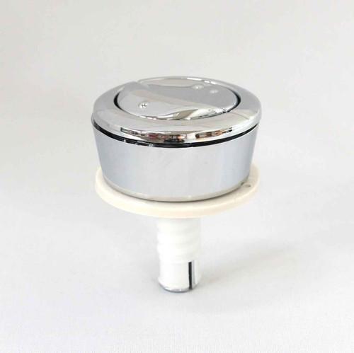 Wirquin Dual Flush Button Old Model 48Mm Dia White Backnut Pre 2007 FTB803 45445321075