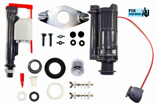Macdee Kayla Universal Bottom Entry Cistern Fittings Kit Av068 Diy Fit FTB842 5055639136205
