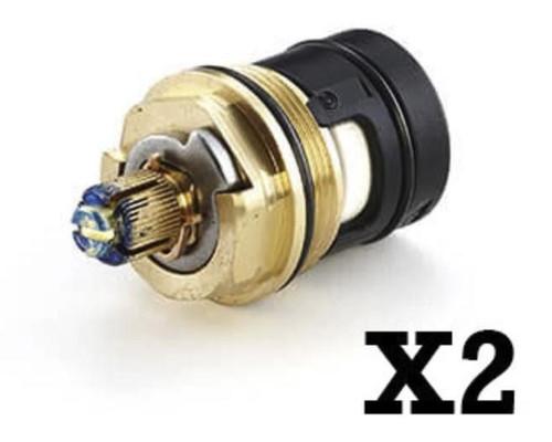 Ideal Standard S8739Nu Sottini Trevi Domi Icarus 1/2 In 1/4 Turn Ceramic Disc Valves Pair Ideal FTB536 5055639101524