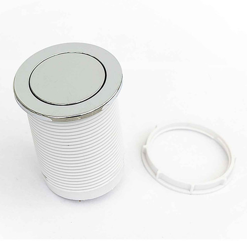 Macdee Kara 72Mm Pneumatic Macdee Syg608Cp Single Flush Valve Push Button FTB706 5055639100084