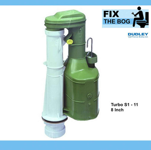 Dudley Turbo S1-11 8 Inch Siphon Duoflush Wras Approved For Wellbottom Cistern FTB470 45445321334