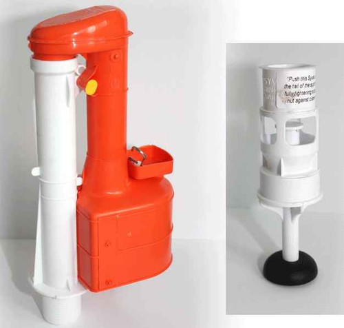 Dudley Turbo 44 10 Inch Siphon Duoflush Wras Approved With Syvac Aspirator FTB463 5055639199200