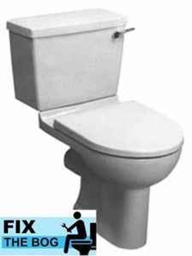 Ideal Standard Bermuda Blue Brasilia Toilet Seat And Cover With Chrome Hinges FTB2133 5055639140615