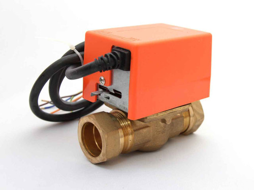 2 Port Solar 28Mm Motorised Zone Valve Actuator Solar Thermal Systems FTB2435 5055639199484