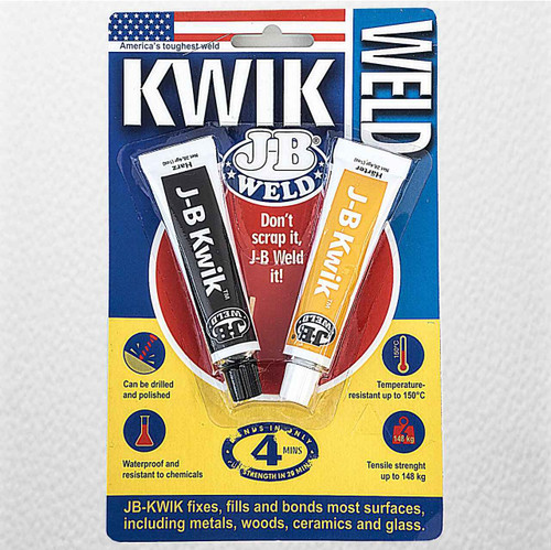 J-B Weld Dark Grey Kwikweld 8276 FTB2409 5055639199880