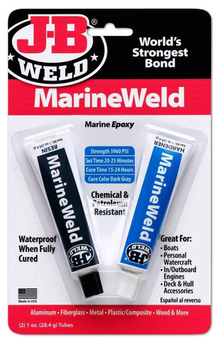 J-B Weld Dark Grey Marineweld 8272 FTB2406 5055639199859