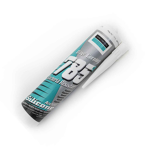 Dow Corning 785 Bacteriostatic Sanitary Silicone Sealant Bathroom Kitchen White FTB1076 5055639199378