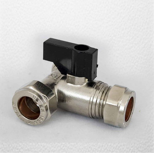 3 Way Isolating Tee 15Mm With Ball Valve For Garden Tap Extension FTB742 5055639199224