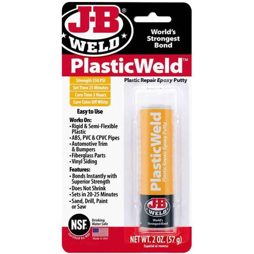 J-B Weld Off White Plasticweld 8237 FTB2397 5055639199767
