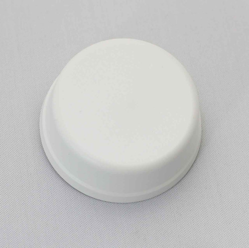 6439 Herga Mushroom Button, Flat Mount, White FTB2575 5055639198081