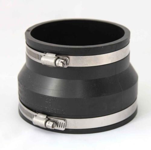 Fixthebog Flexible Coupling 102Mm 4 Clay To Plastic/Cast Iron FTB2537 5055639198029