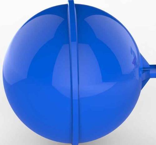 Dudley Tetra Partt.3 Float 114Mm 41/2 Round Qualifloat Plastic Float FTB2614 5055639197954