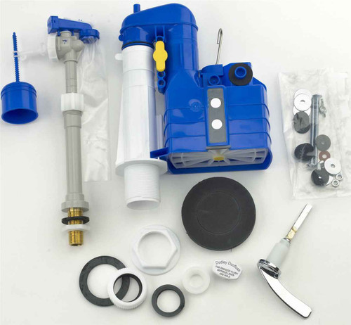 Dudley Turbo 88 Adjustable Hydroflo Telescopic Brass Tail Bottom Inlet, Close Coupling Kit, Doughnut Washer And Lever Kit Universal Cistern Fixing Kit FTB2618 5013241057622