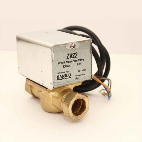 2 Port 1 BSP Compression Heating Water Motorised Zone Valve Actuator Can Replace Honeywell V4043H1080 FTB2785 5055639196339