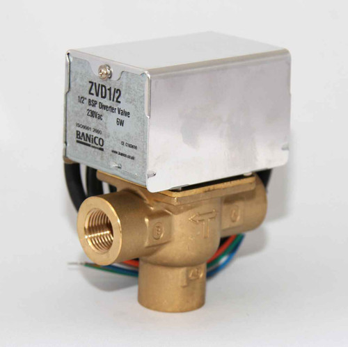 MOTORISED Diverter Priority VALVE ACTUATOR 3 PORT 1/2 BSP Female CAN REPLACE V4043C FTB2789 5055639138698