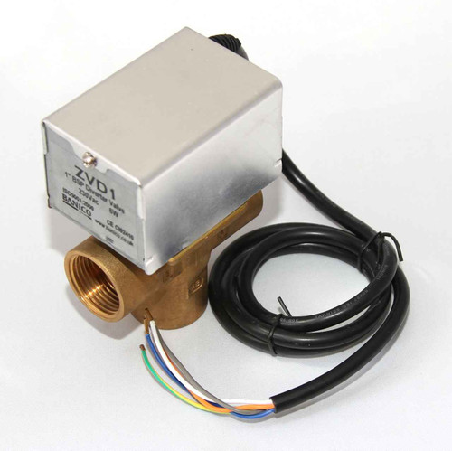 MOTORISED Diverter Priority VALVE ACTUATOR 3 PORT 1 inch BSP Female can replace Honeywell V4043C FTB2791 5055639196278