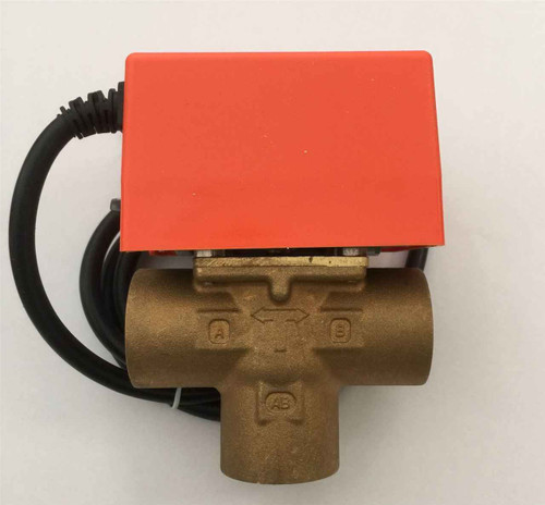 3 Port SOLAR 3/4 BSP female Motorised Zone Valve Actuator SOLAR THERMAL SYSTEMS FTB2796 5055639195981