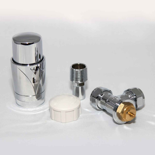 FixtheHeat Angled Chrome EN215 A Rated TRV FTB2856 5055639195783