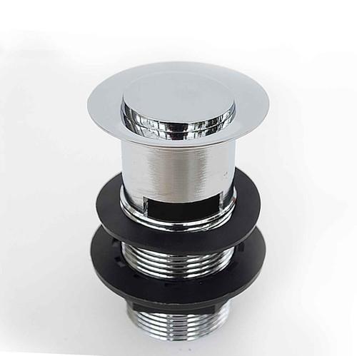 Basin Waste Slotted Brass Body, Flipover/Swivel FTB2456 5055639195714