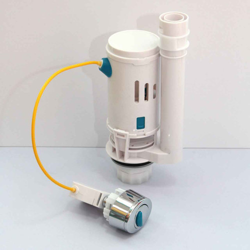 FixTheBog Dual Flush including 1 1/2 and 2 outlet Light Touch Button WRAS approved Cable operated FTB2825 5055639196131