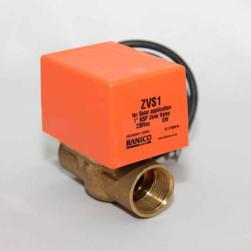 2 Port SOLAR 1 BSP Female Motorised Zone Valve Actuator SOLAR THERMAL SYSTEMS FTB2795 5055639195523